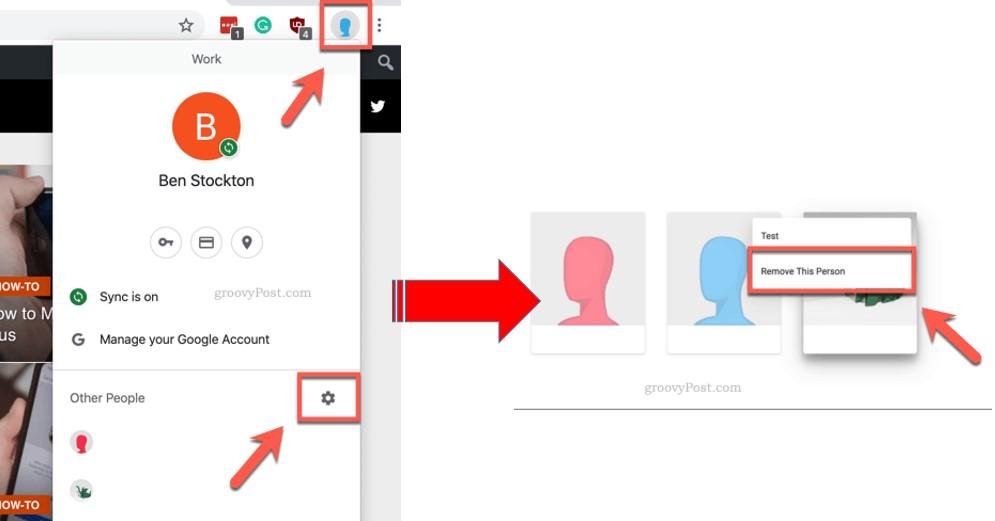 Cara Menghapus Gmail di Google Chrome