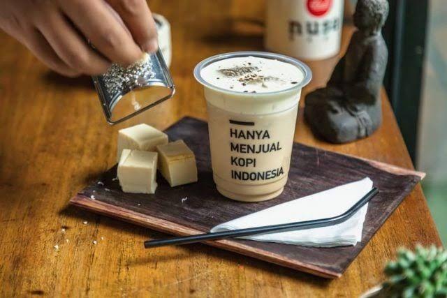 cara membuat es kopi kekinian